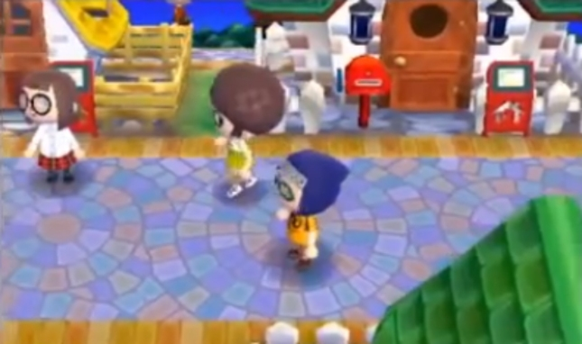 Animal Crossing: New Leaf Happy Home Showcase StreetPass Mode Screenshot. View Other People's Houses and Characters You've Met by Walking Around In Real Life!