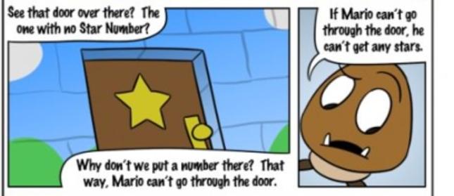 Super Mario 64 Goomba Logic Comic