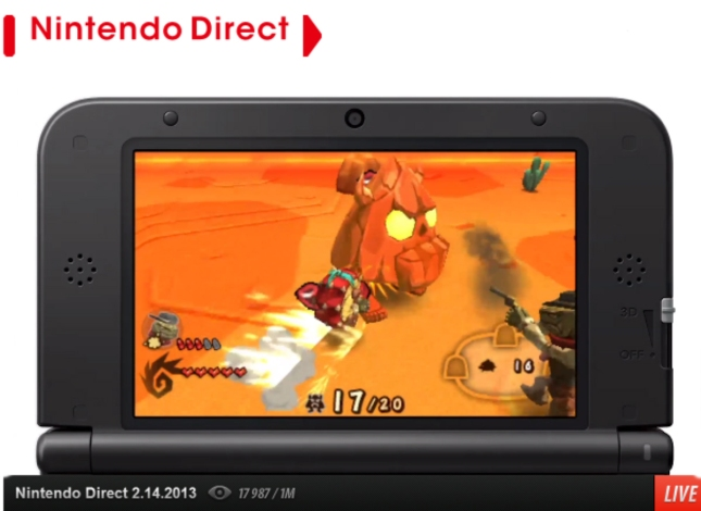 Dillon's Rolling Western 2: The Last Ranger Gameplay Screenshot 3DS eShop