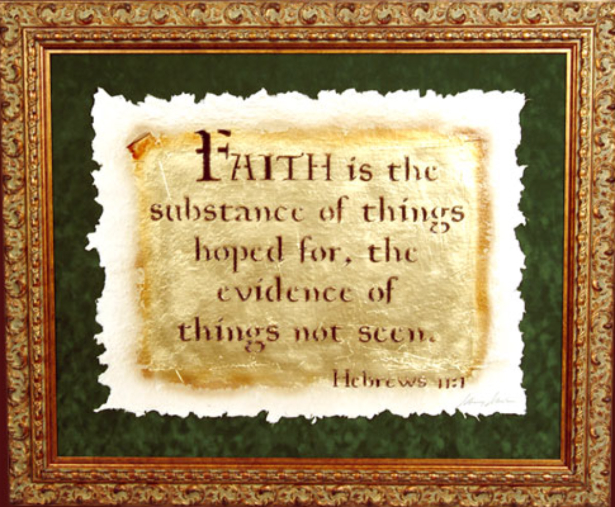 Bible Quotes About Faith Bible Verse Of The Day  Faith Is The Substance Of Things Hoped