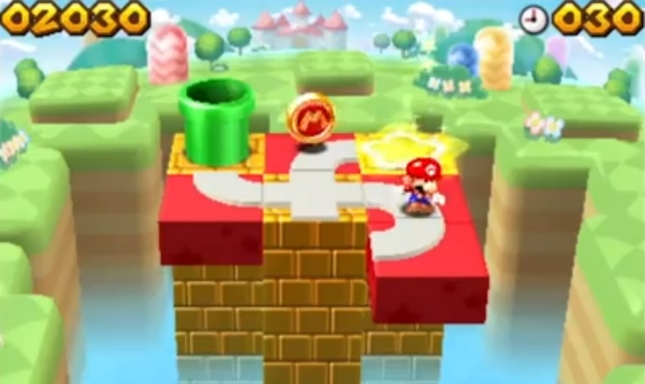 Mario And Donkey Kong: Minis On the Move Gameplay Screenshot 3DS eShop