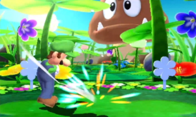 Mario Golf 3DS: World Tour Gameplay Screenshot Goomba Course