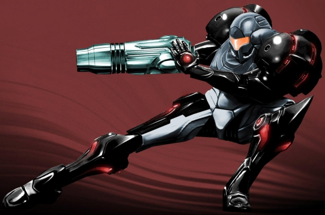 Metroid Prime 1 Wallpaper Black Samus Phazon Suit Wallpaper