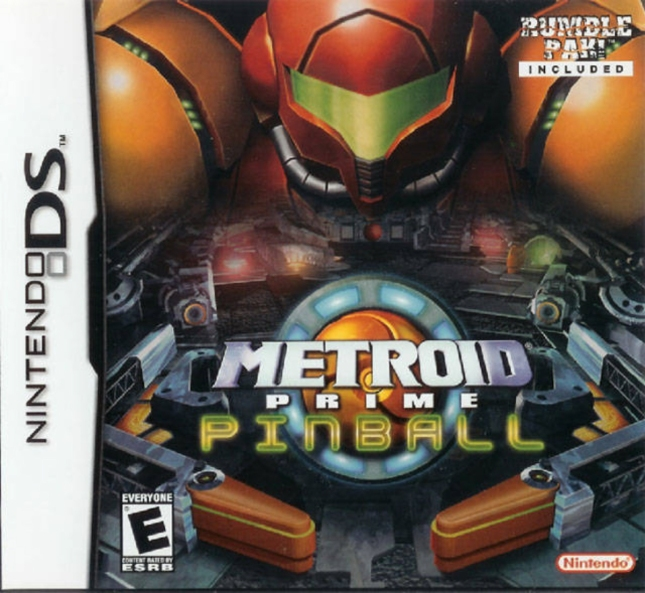 Metroid Prime Pinball Box Cover Art DS
