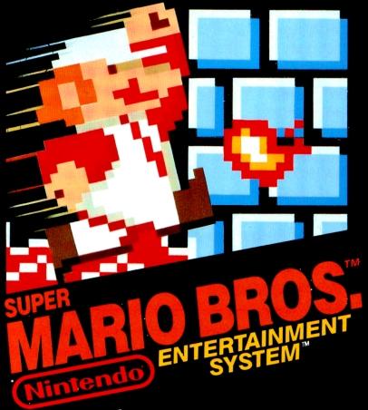 Super Mario Bros. game cover