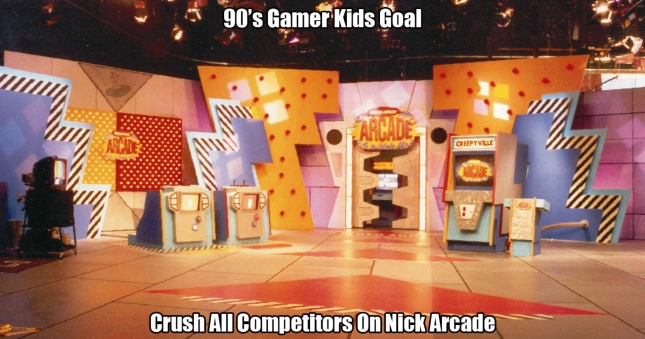 Nickelodeon Nick Arcade 90s Videogame TV Show