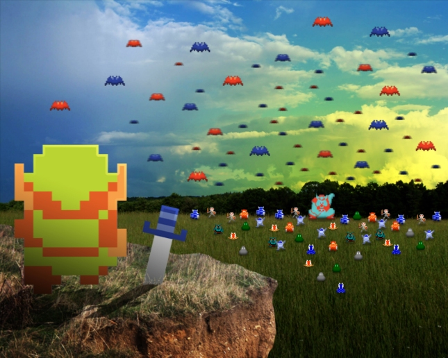 Real Life Zelda Invasion Wallpaper