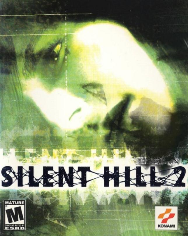 Silent Hill 2 PS2 Cover Box Art USA