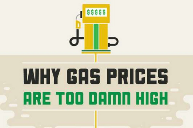 Why Are Gas Prices So Damn High Banner Artwork