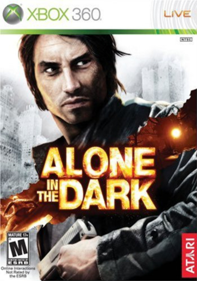 Xbox 360 Alone in the Dark Cover Artwork