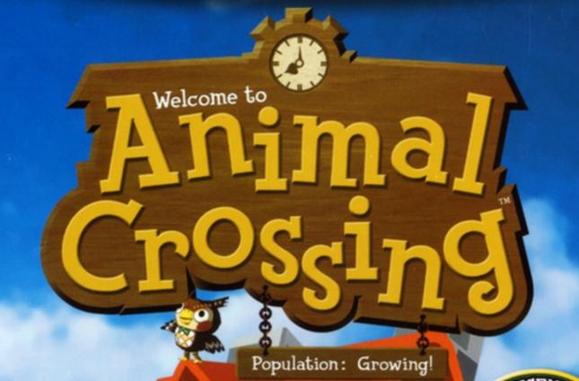 Animal Crossing GameCube Logo