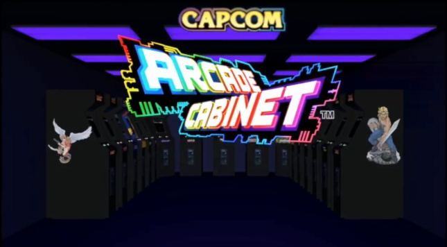 Capcom Arcade Cabinet Logo Artwork