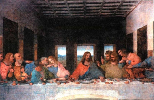 Da Vinci The Last Supper Painting