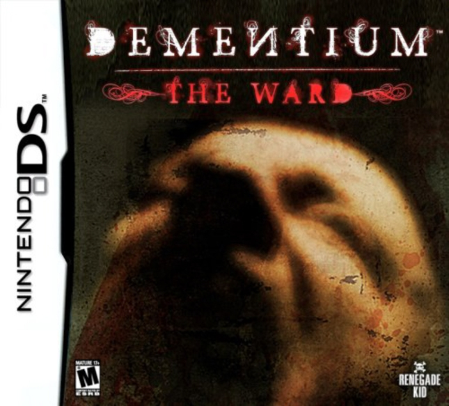 Dementium The Ward Cover DS Box Artwork
