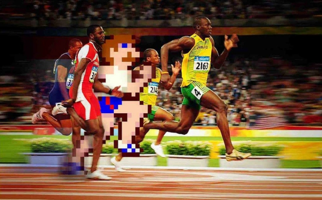 Track and Field For Real 8bit NES Olympic Race Wallpaper