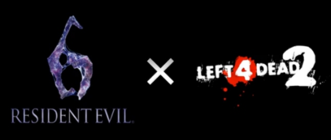 Left 4 Dead 2 Cross Resident Evil 6 Logos