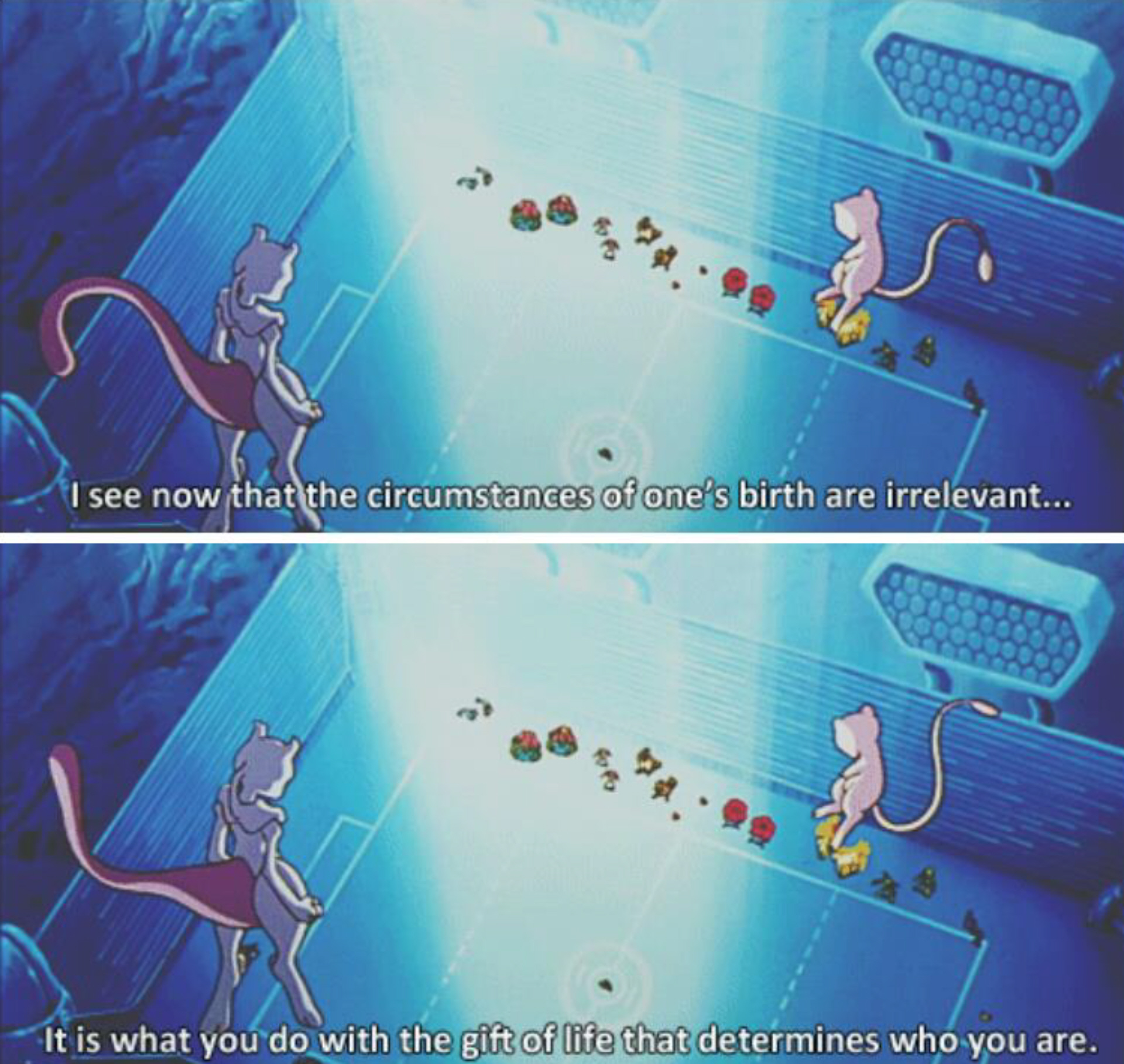 Mewtwo Inspirational Quote: Pokemon The First Movie