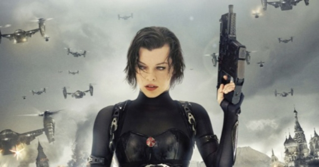 Milla Jovovich Alice Resident Evil Retribution
