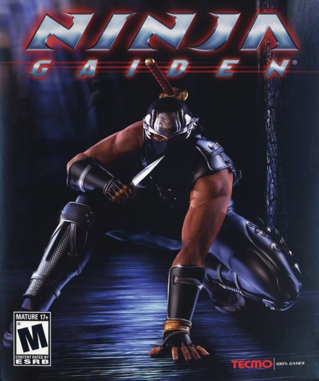 Ninja Gaiden 1 Cover Xbox 1 Box Artwork