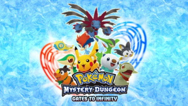 Pokemon Mystery Dungeon Gates to Infinity Artwork