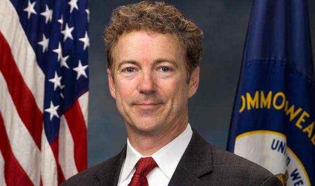 Rand Paul American Flag Photo