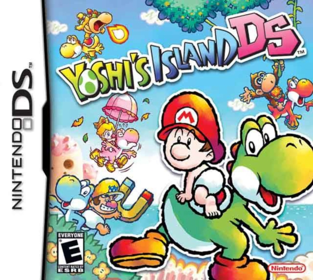Yoshi's Island DS Front Cover of Box Artwork USA