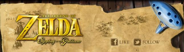 Zelda Symphony of the Goddesses Banner Art