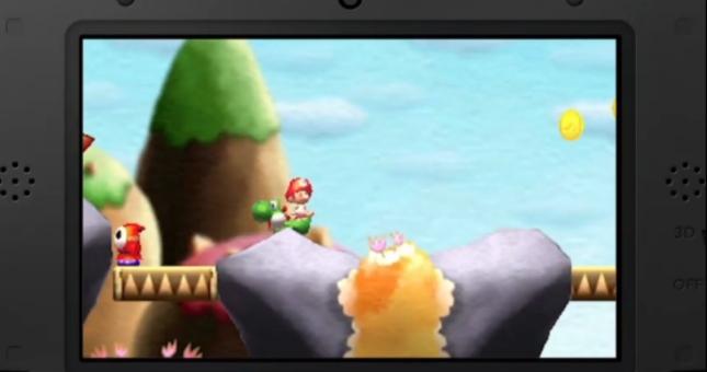 3DS Yoshi's Island Screenshot