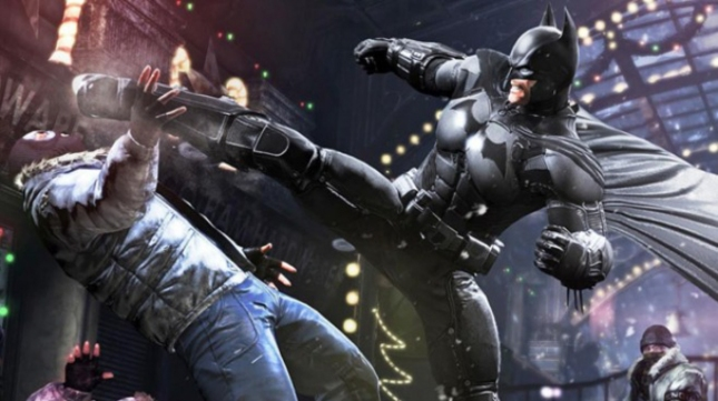 Batman: Arkham Origins Videogame Fight Scene Screenshot
