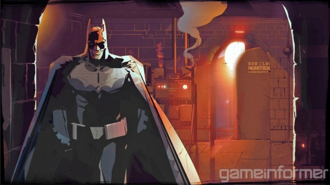 Batman Origins Blackgate Artwork