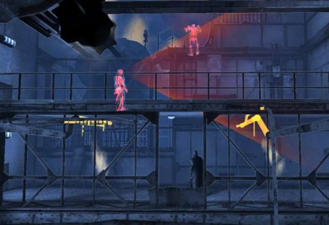 Batman Origins Blackgate Detective Mode Gameplay Screenshot  Side-Scroller 3DS PS Vita