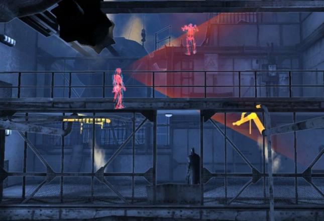 Batman Origins Blackgate Detective Mode Gameplay Screenshot  Side-Scroller 3DS PS Vita