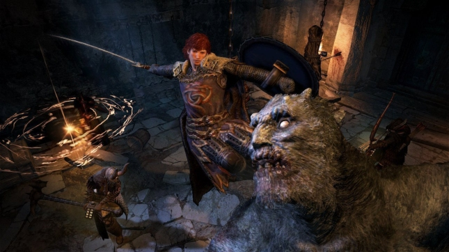Dragon's Dogma: Dark Arisen Boss Fight