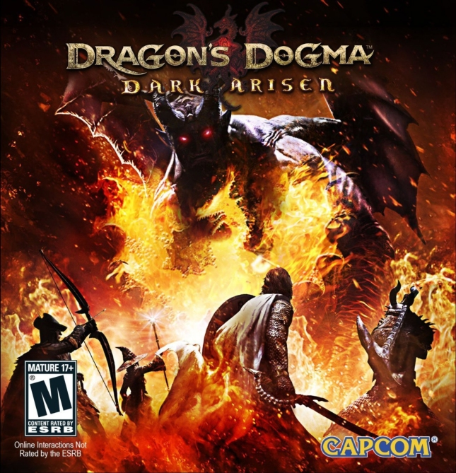 Dragon's Dogma: Dark Arisen Expansion Box Artwork