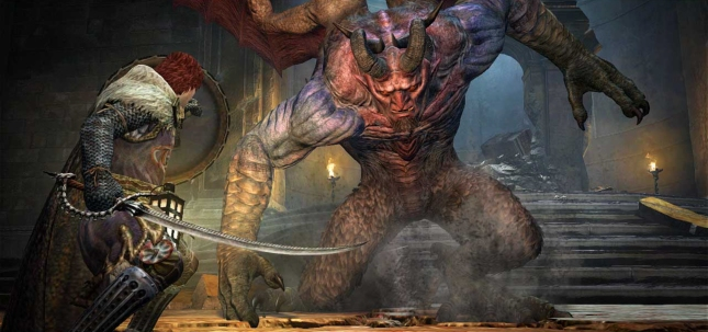 Dragon's Dogma: Dark Arisen Gameplay Screenshot of Evil