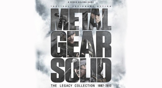 Metal Gear Solid Legacy Collection PS3 Artwork