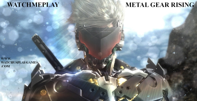 WatchMePlay Metal Gear Rising WatchusplayGames Banner