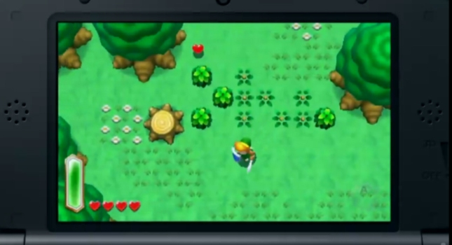 Zelda Link to the Past 2 Gameplay Screenshot 3DS