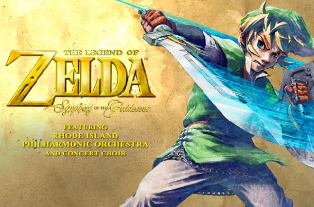Zelda: Symphony of the Goddesses Skyward Sword Link Artwork