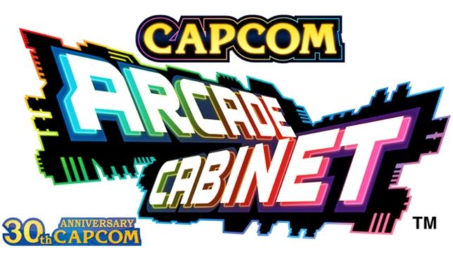 Capcom Arcade Cabinet 30th Anniversary Logo