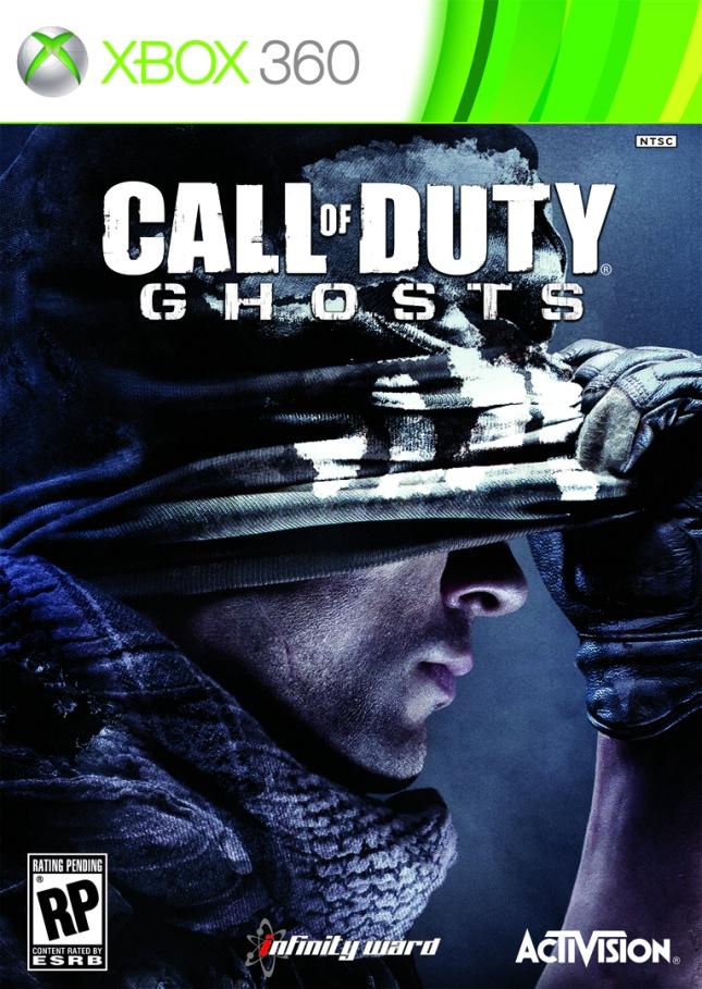 COD Ghosts Boxart Xbox 360