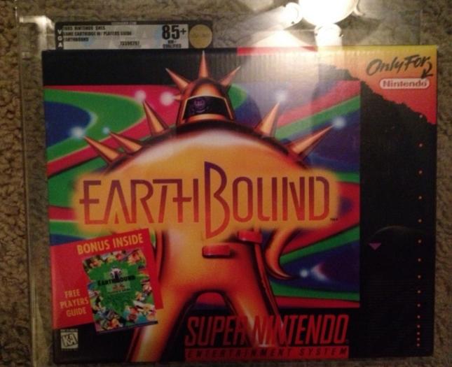 EarthBound New Boxed Sealed Graded Ebay $5000