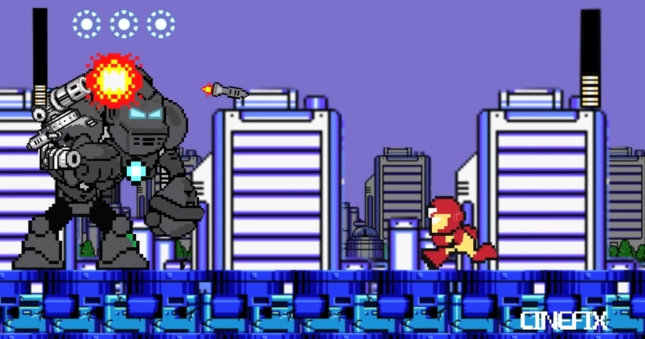 Iron Man Mega Man Movie Wallpaper