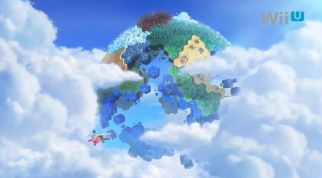 Sonic Lost World Wii U Artwork