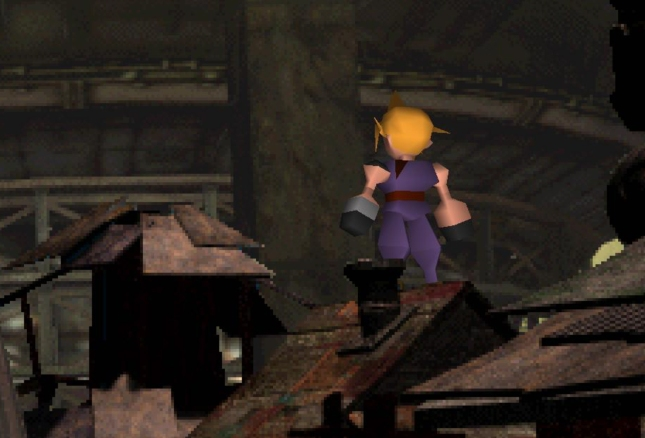 Spikey Yellow Cloud Hair Final Fantasy VII Is Iconic