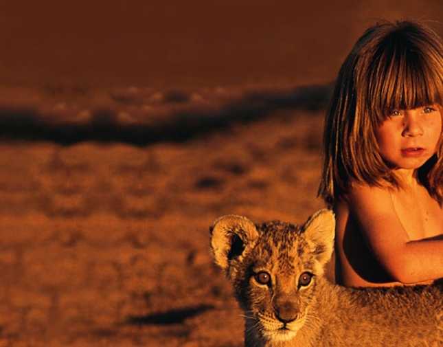 Tippi Africa Little Girl Lioness