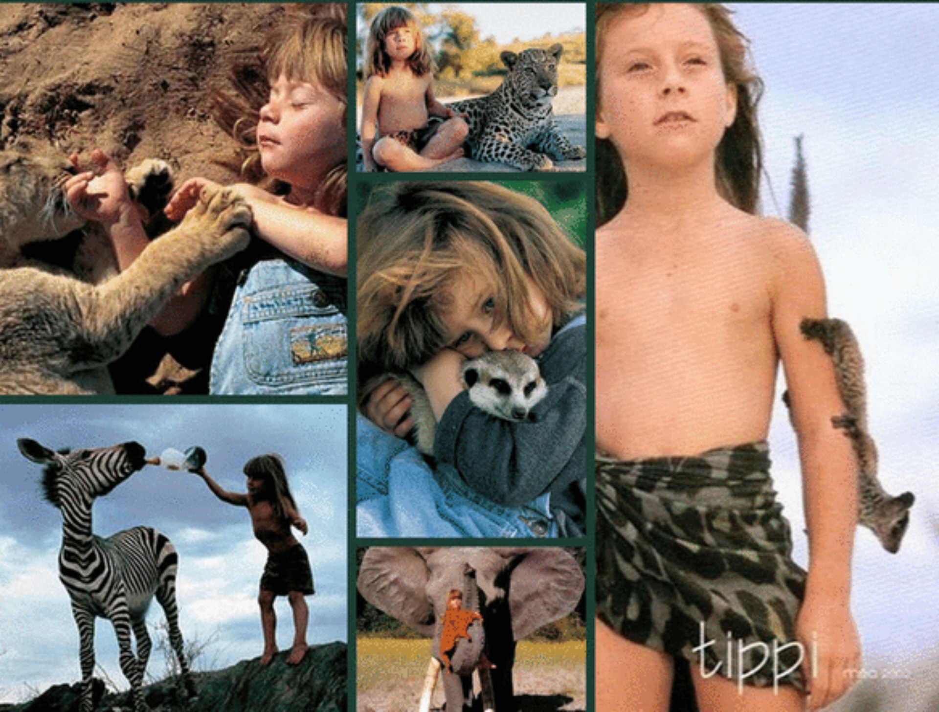 The Magical Life of Tippi Degré, The Real Mowgli from The ...