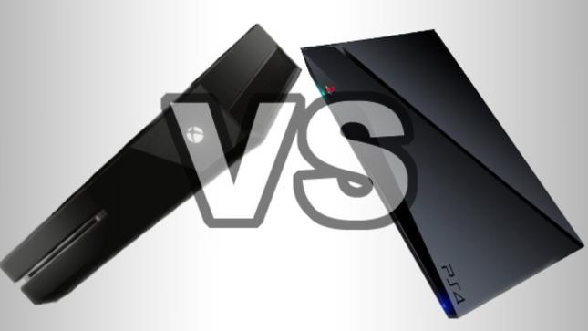 Xbox One vs PS4 Fanart