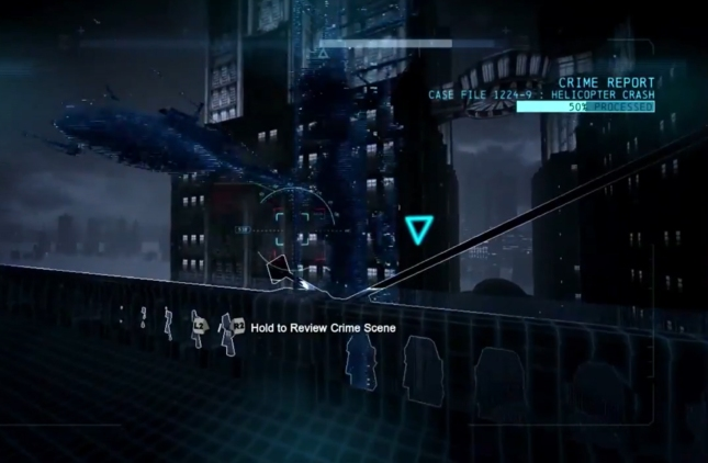 Batman: Arkham Origins Crime Scene Investigation Gameplay Screenshot (E3 2013)