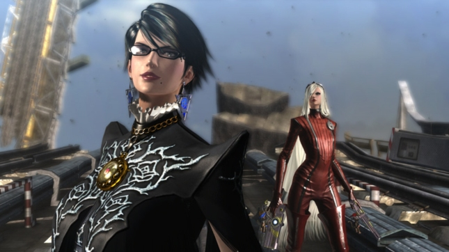 Bayonetta 2 Short Hair New Look Characters Jeanne Screenshot